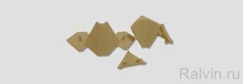 Комплект заглушек для плинтуса (Фурнитура)
