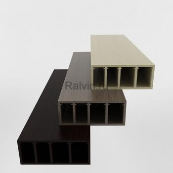 Стыковочный элемент блок-хаус под бревно
