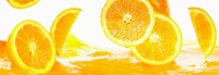 Кухонный фартук Сочный апельсин
