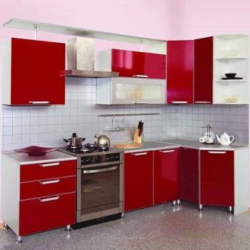Кухня Трапеза Престиж угловая 2500х1305
