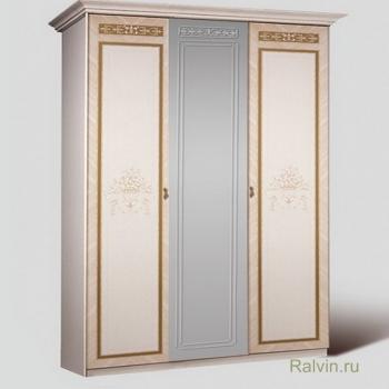 Шкаф К3Ш1/3 Карина-3 3-х двер. (1 зеркало)