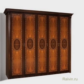 Шкаф К2Ш1/5 Карина-2 5-х двер. (Без зеркал)