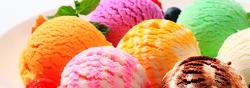 Кухонный фартук Мороженое