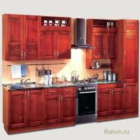 Кухня Трапеза Массив Люкс 2900