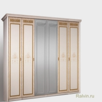 Шкаф К3Ш1/6 Карина-3 6-ти двер. (2 зеркала)